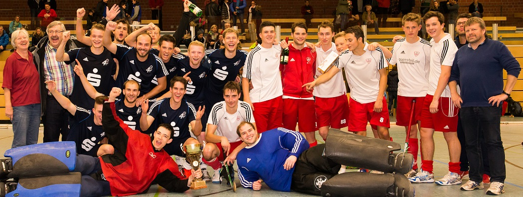 Siegerehrung Herren Intern. Hockey-Turnier 2014